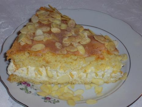 Przepis: Ciasto puszek migdałowy