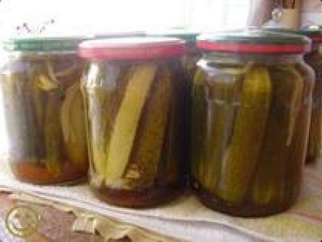 Przepis: Ogórki po meksykańsku z curry.