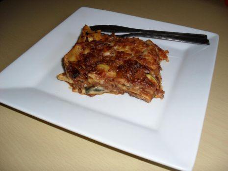 Przepis: Lasagne wołowa z warzywami Chupi