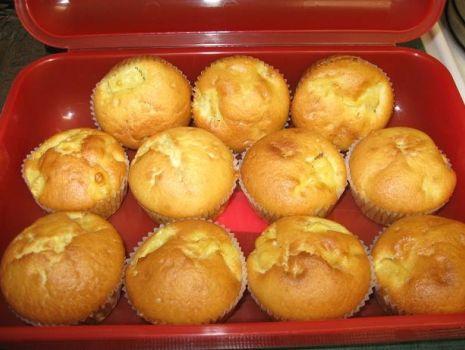 Przepis: muffinki z jabłkami