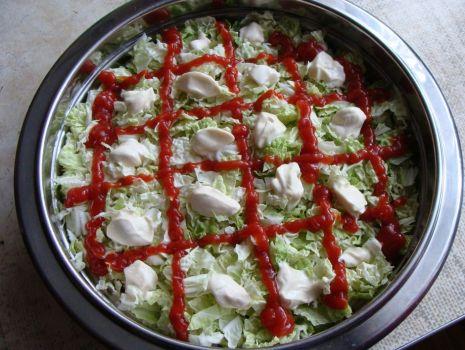 Przepis: Sałatka kebab