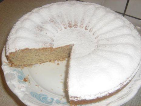 Przepis: Ciasto migdałowo-kokosowe.
