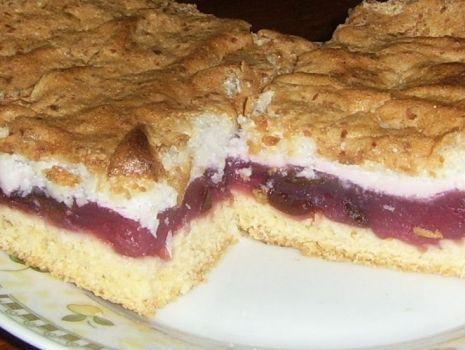Przepis: Ciasto z wiśniami (czereśniami lub śliwkami)