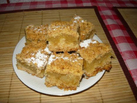 Przepis: Ciasto z jabłkami