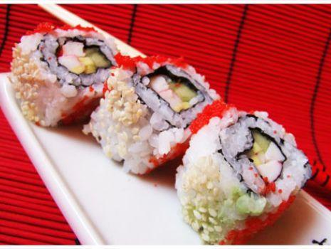 Przepis: Sushi-California maki