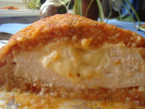 Przepis: Piersi z kurczaka w papykowo-pomidorowej panierce