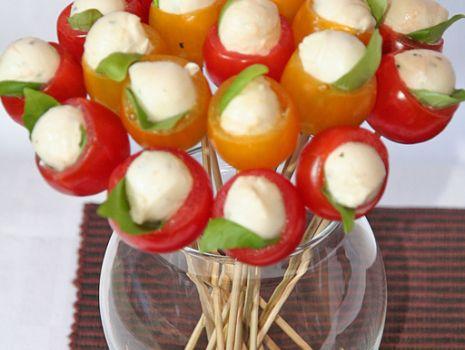 Przepis: Bukiet z pomidorów