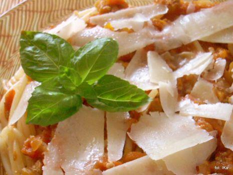 Przepis: Spaghetti bolognese Pyzy