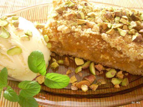 Przepis: Ciasto jesienne z dynią i jabłkami