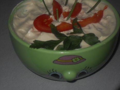 Przepis: Warzywna  biała surówka