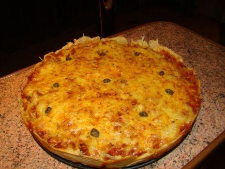 Przepis: Tarta z mięsem mielonym a la bolognese
