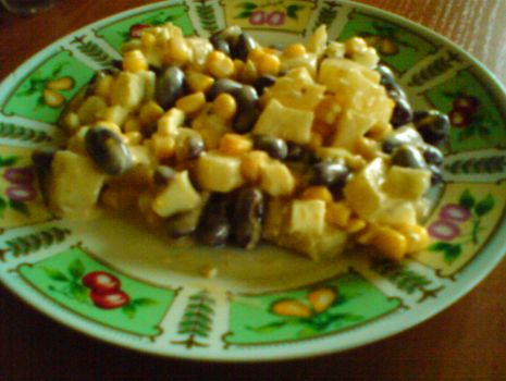 Przepis: Sałatka z ananasem
