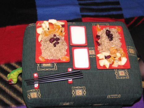 Przepis: Orientalne risotto na słodko