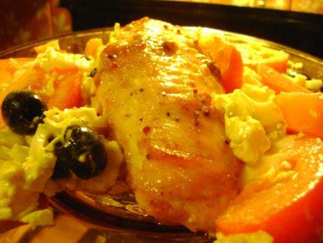 Przepis: Pierś kurczaka w pikantnej marynacie.