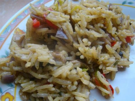 Przepis: Moje risotto z warzywami