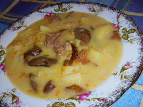 Przepis: Zupa grzybowa po wiejsku