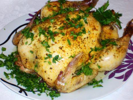 Przepis: Kurczak pieczony z zalewy
