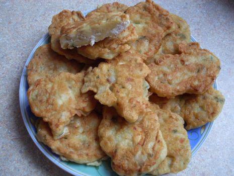 Przepis: Placuszki z pieczarek i kurczaka