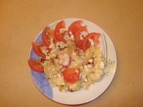 Przepis: makaron z serem ( polskie spaghetti )