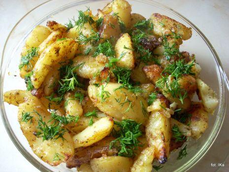 Przepis: Pieczone ziemniaki Pyzy