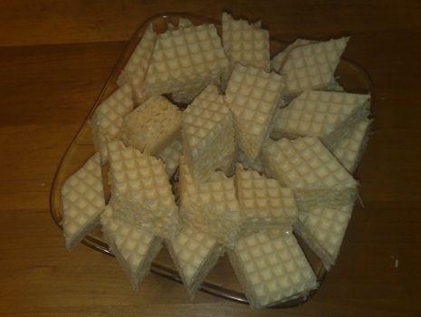 Przepis: wafle ze śmietanką