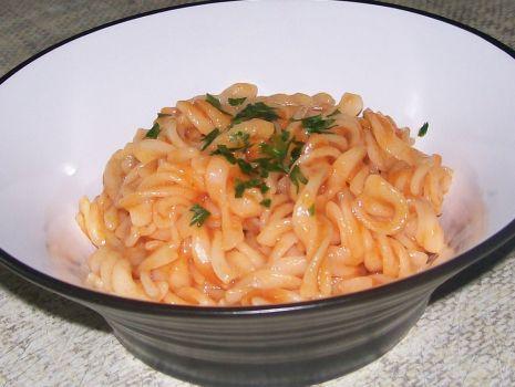 """Przepis: """"Pomidorowy makaron"""""""