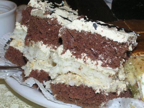 Przepis: Ciasto kakaowo-kokosowe