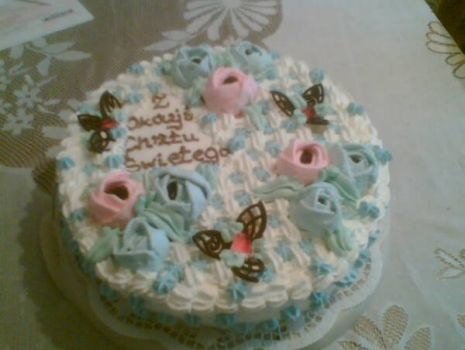 Przepis: Tort śmietankowo-truskawkowy
