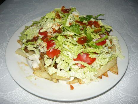Przepis: Kebab na frytkach