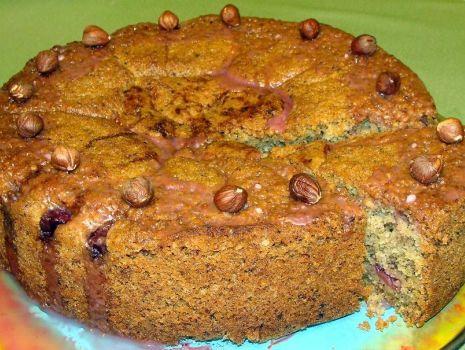 Przepis: Korzenne ciasto z wiśniami