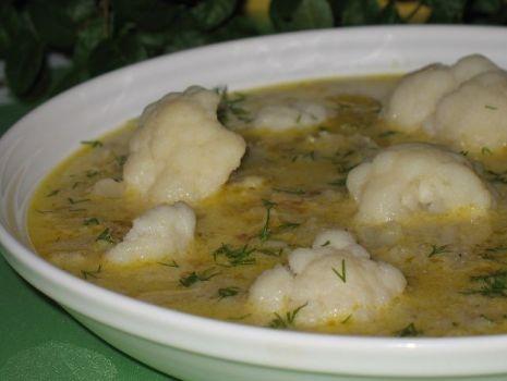 Przepis: Zupa z kalafiora