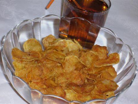Przepis: Chipsy  domowe