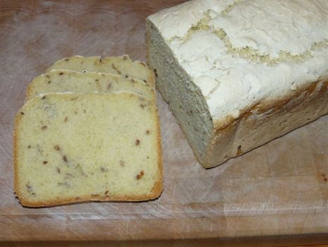 Przepis: Chleb kukurydziany ze słonecznikiem