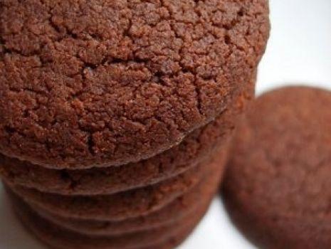 Przepis: Ciastka kakaowe