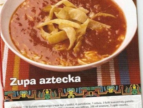Przepis: Zupa aztecka