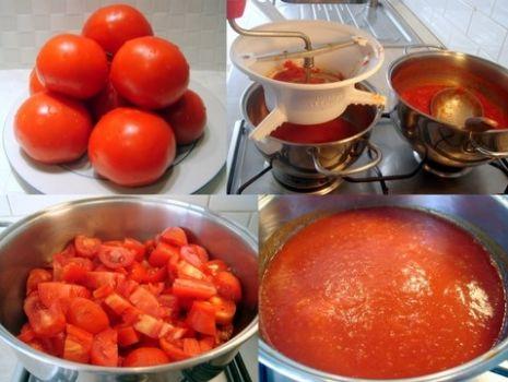 Przepis: Sos pomidorowy wg Evi