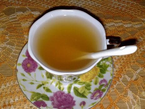 Przepis: Rozgrzewająca herbata imbirowa