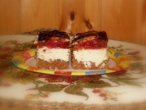 Przepis: Ciasto Kokosowe z Galaretką