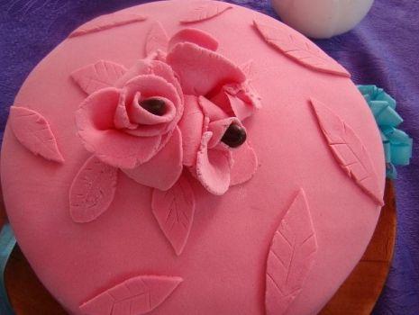 Przepis: Moj pierwszy tort z masą cukrową