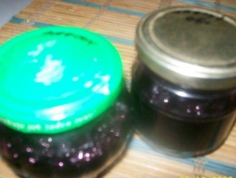 Przepis: Borówki czarne (czarne jagody) - pasteryzowane