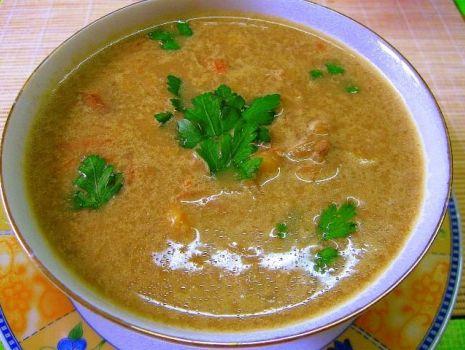 Przepis: Zupa multigrzybowa