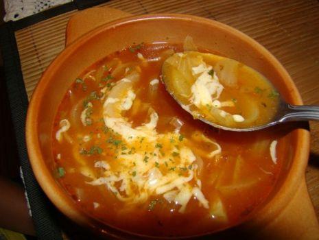 Przepis: Moja zupa cebulowa na sposób hiszpański
