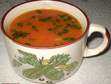 Przepis: Zupa krem z papryki i cebuli :