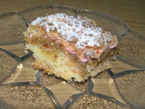 Przepis: Ciasto z rabarbarem