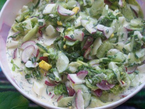 Przepis: Pachnąca wiosną sałatka
