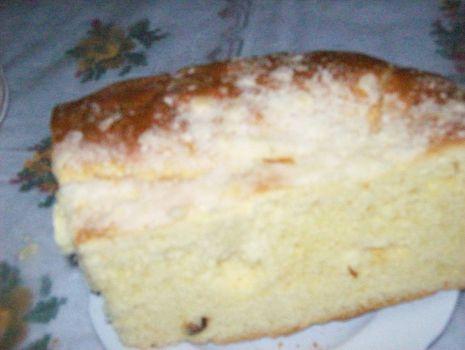 """Przepis: Ciasto drożdzowe """"leniwej piekarki"""""""