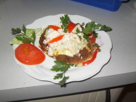 Przepis: Kotlet mielony z warzywami