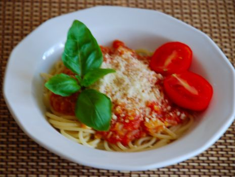 Przepis: Spaghetti Napoli