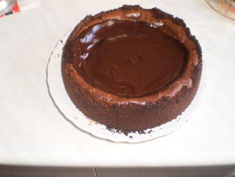 Przepis: Sernik potrójnie czekoladowy.