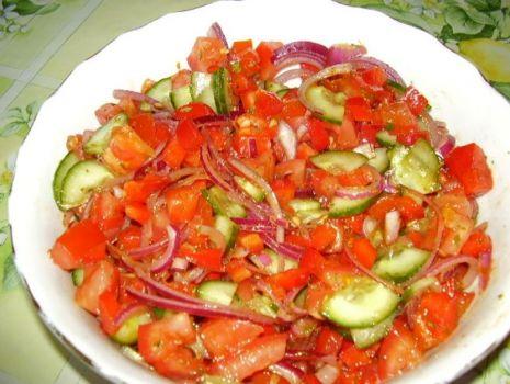 Przepis: Sałatka warzywna